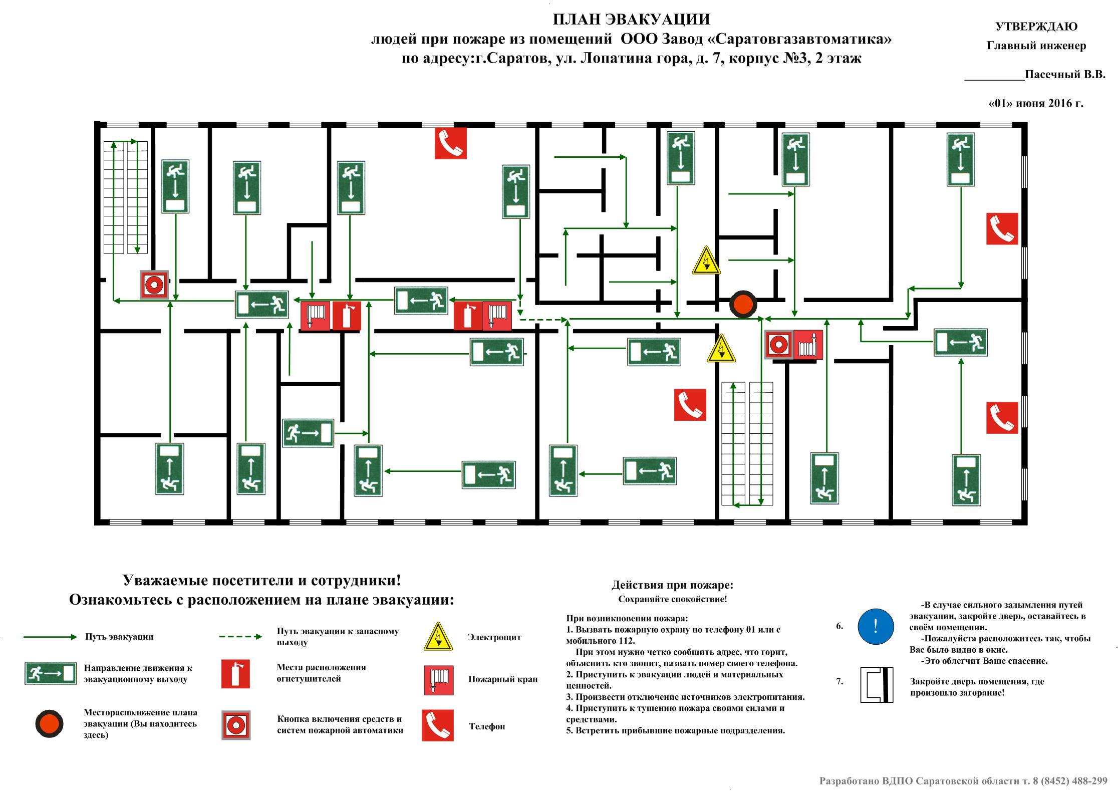 Программа для составления схемы эвакуации